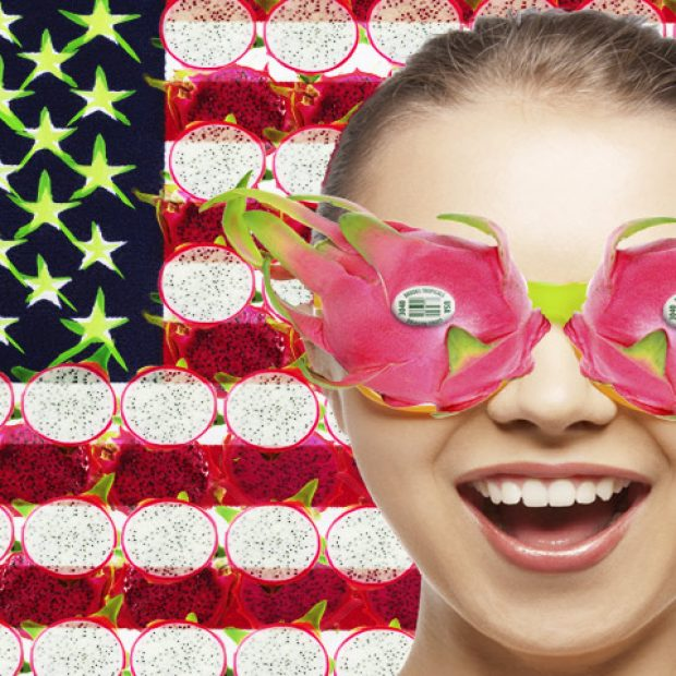 Hooray for the red, white and shocking pink!