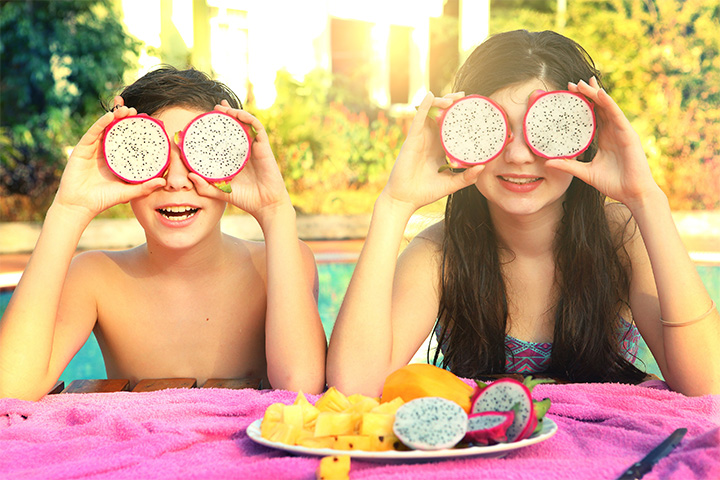 Eat what you see, dragonfruit