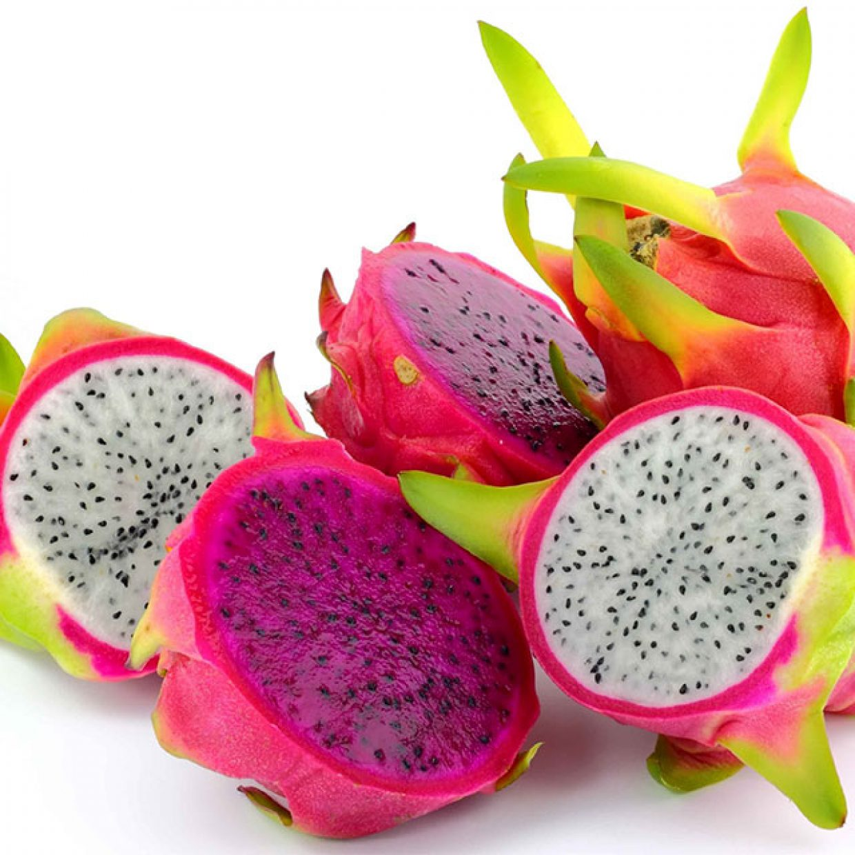 Red or white dragonfruit, why chose? Enjoy both