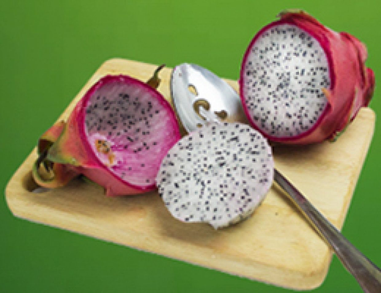 How to open dragonfruit, it's easy