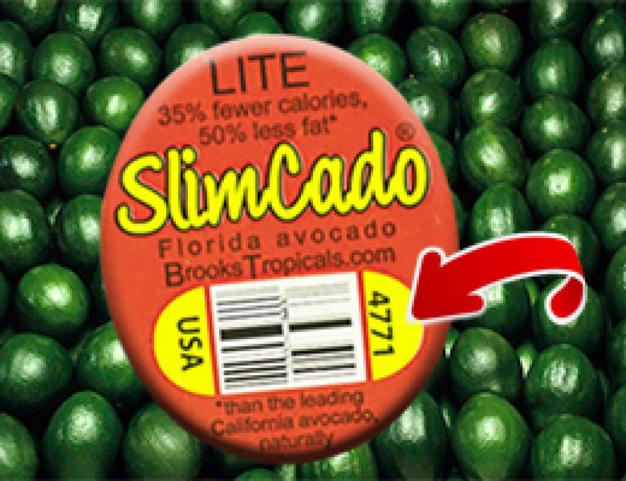 SlimCado's not GMO, here's how to tell with any produce