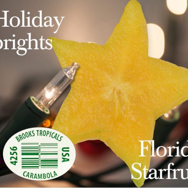 Holiday bright, starfruit