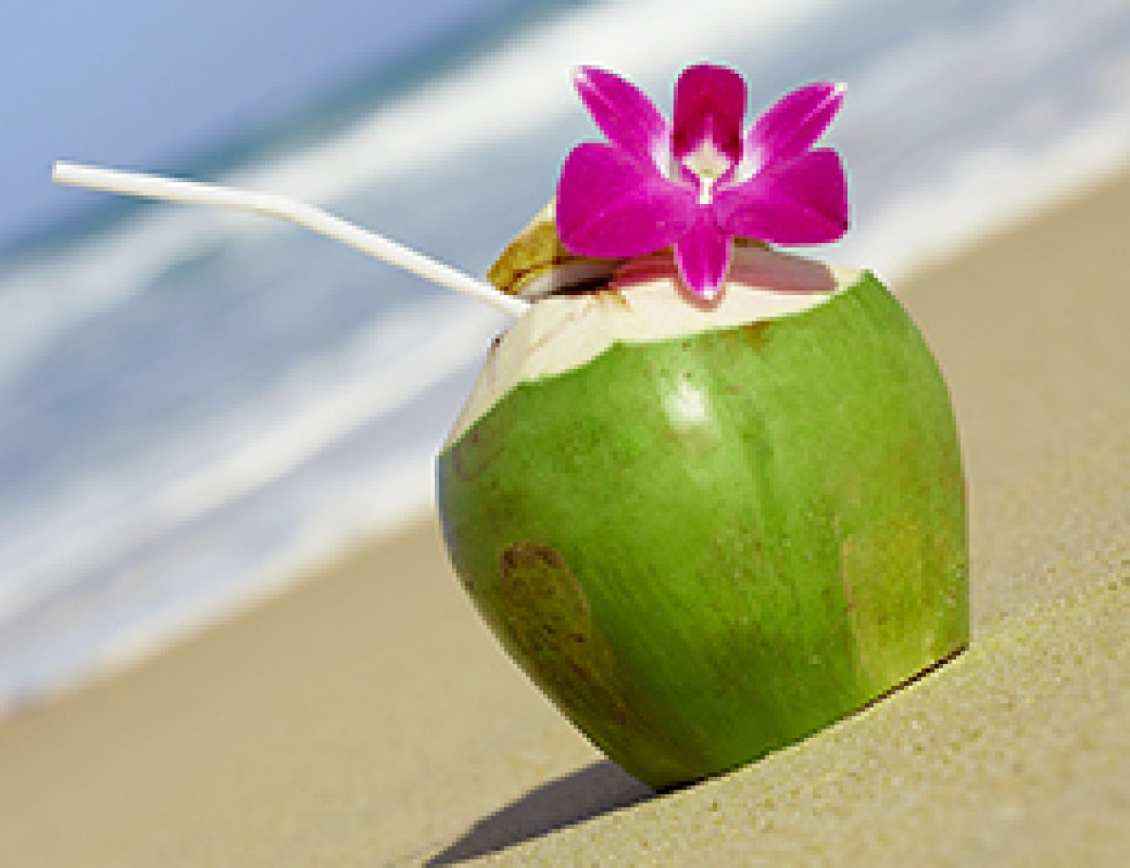 Rehydrate with coconut water
