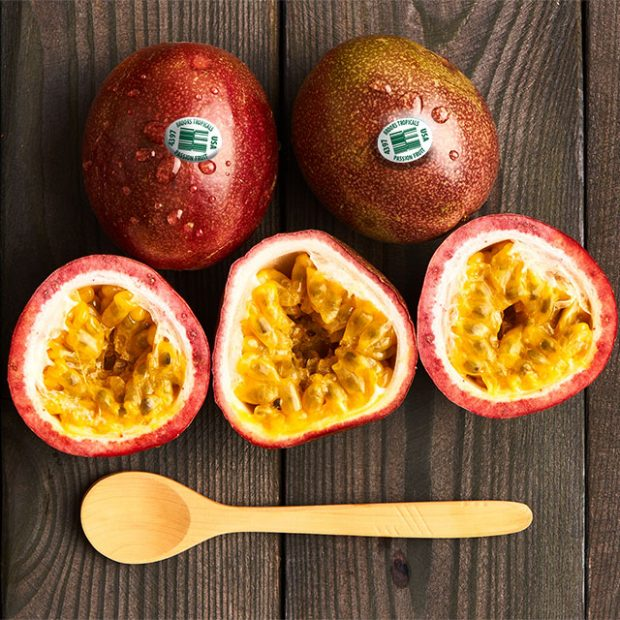 Dig in, it's passionfruit