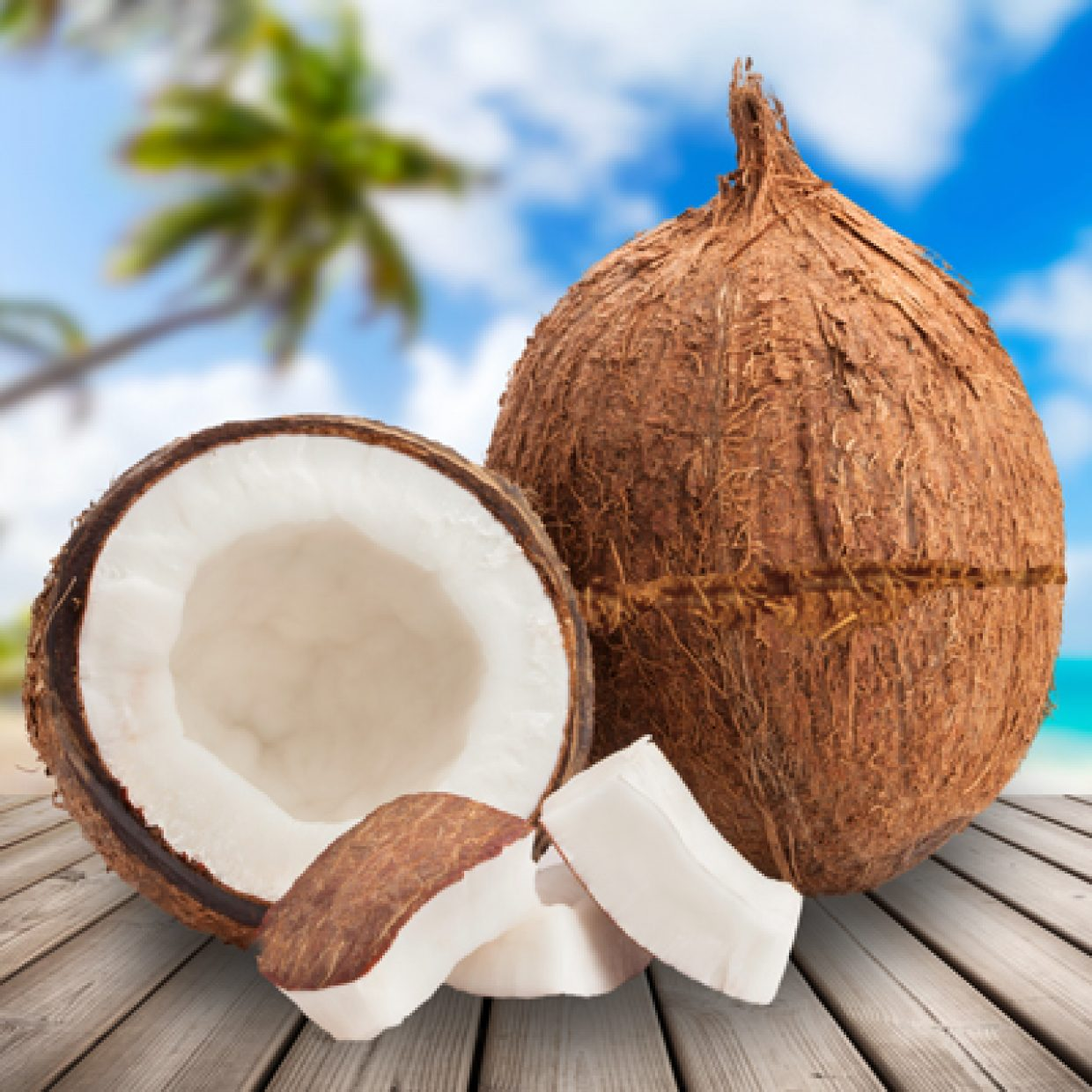 The coconut with the groove