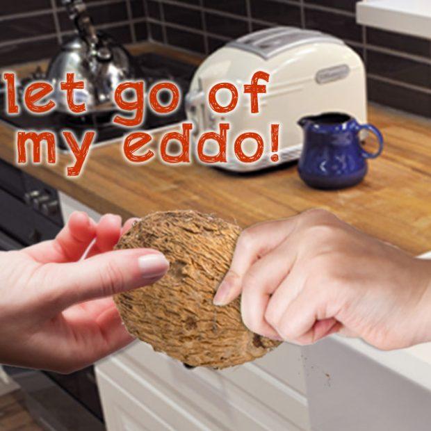 Let go of my eddo!