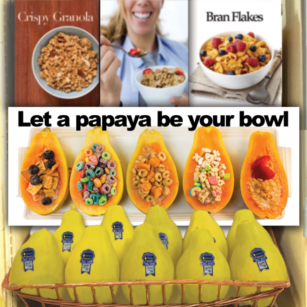 Let a Solo papaya be your bowl