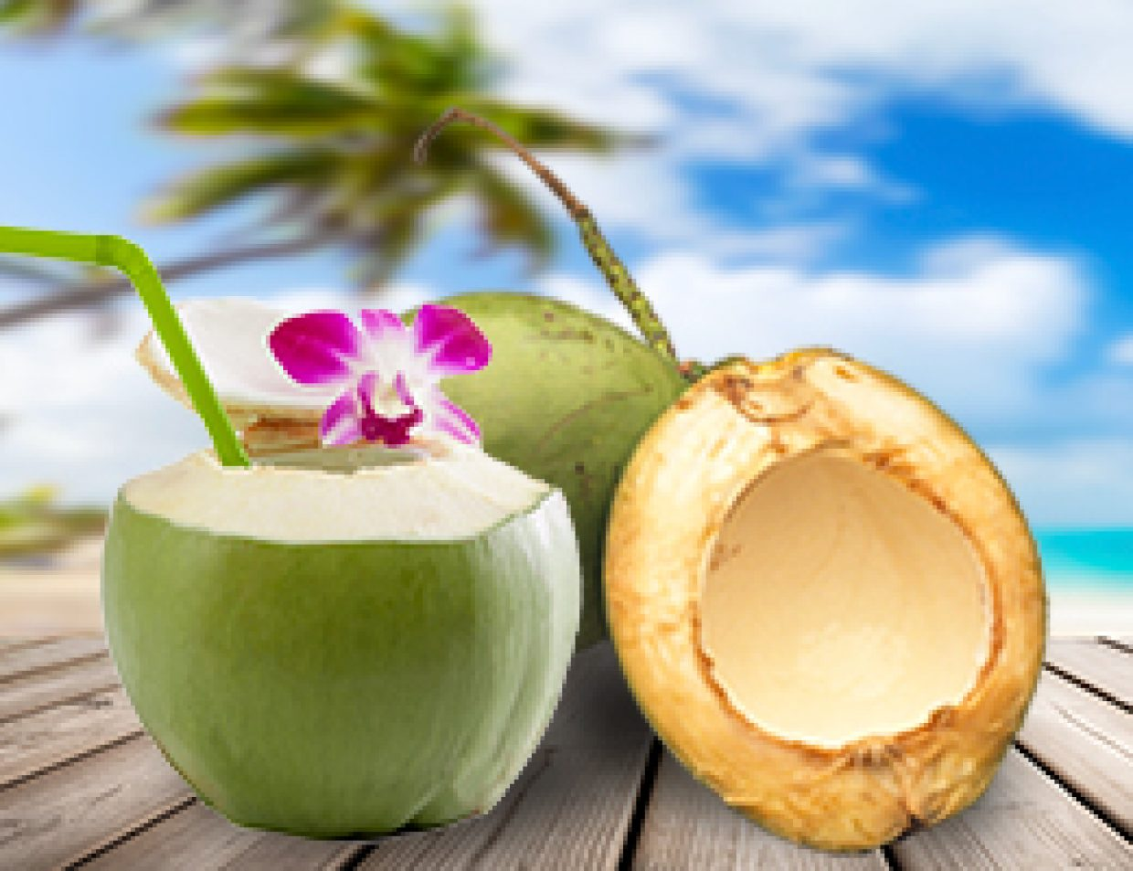 Water Coconuts
