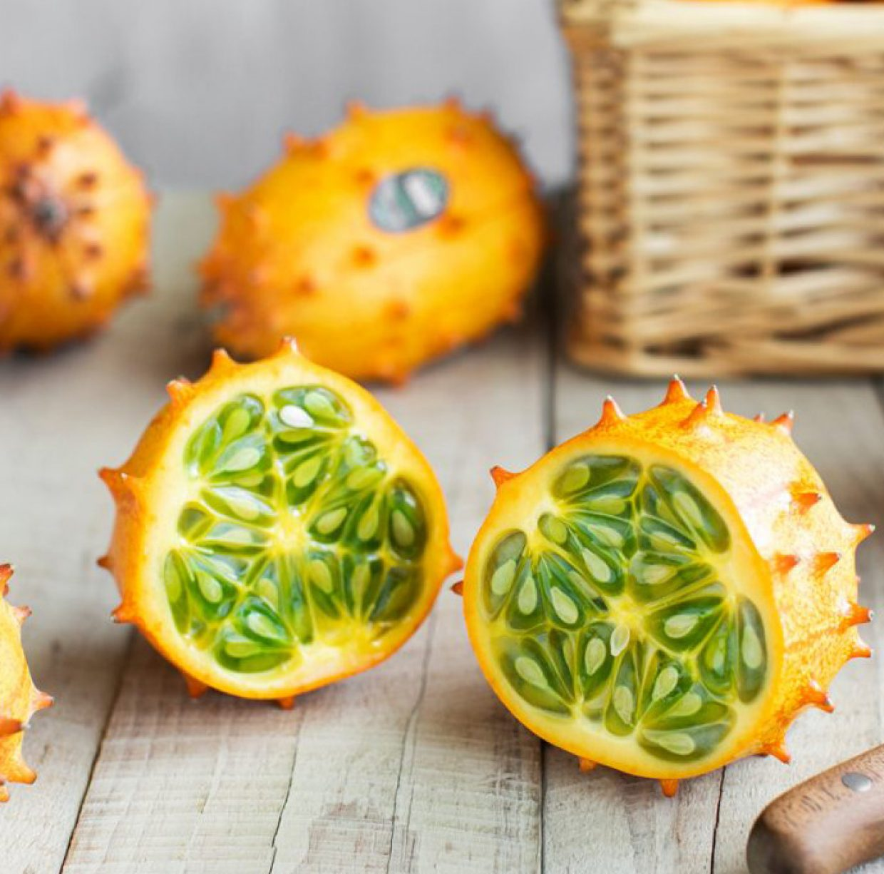 Kiwano, refreshingly taste perfect for summer