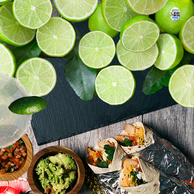Limes make it all taste better
