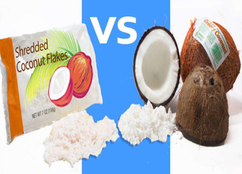 Shredded vs Fresh