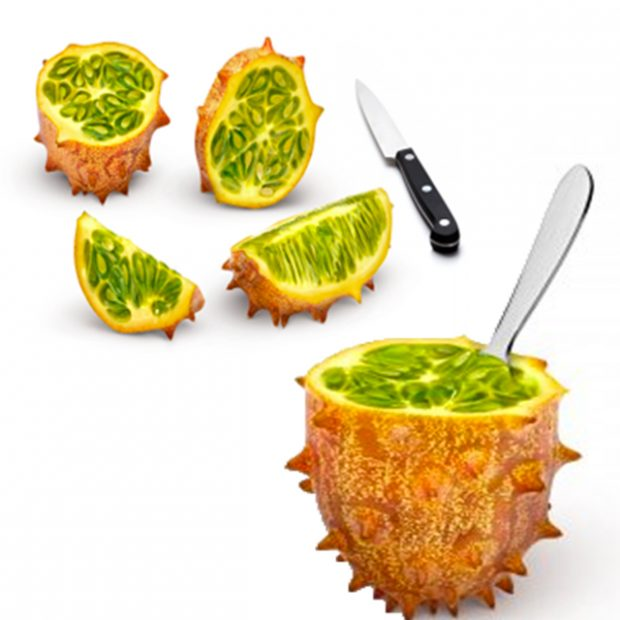 How to eat kiwano