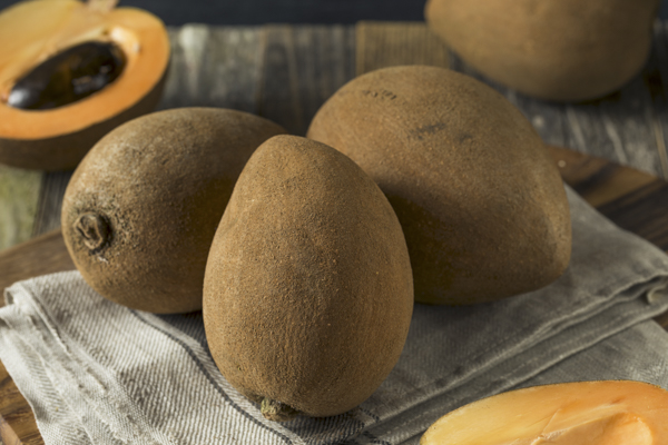 Mamey sapote is a big sweet fruit