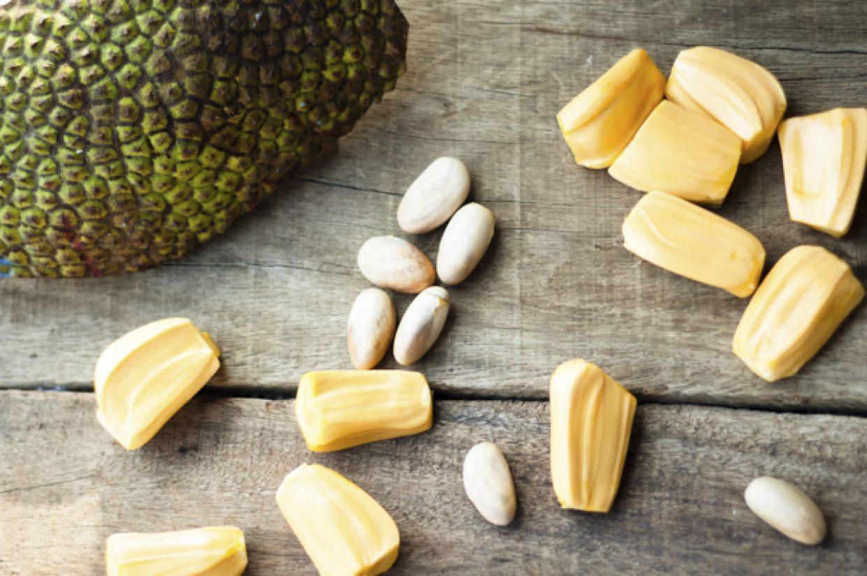 Jackfruit's petals and seeds