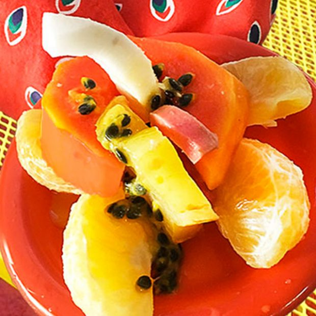 Day 15 – 30 ways in 30 days Solo papayas
