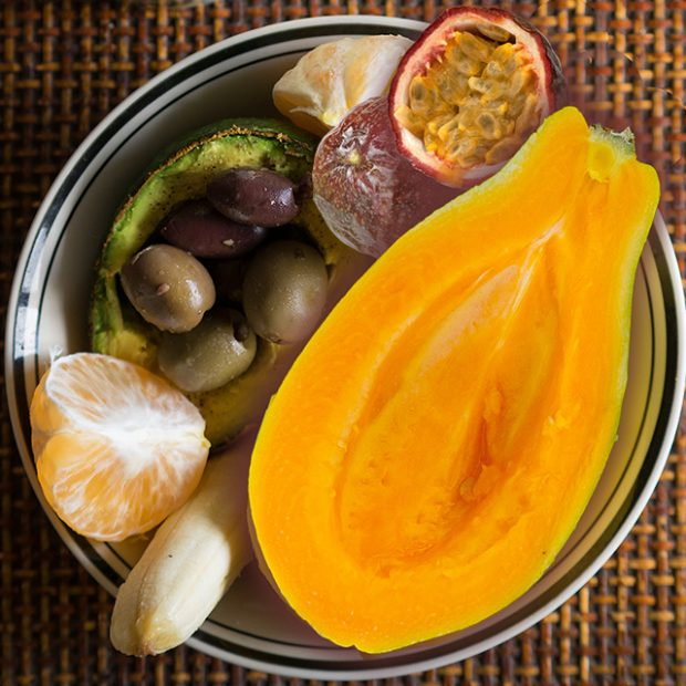 Day 24 – 30 ways in 30 days Solo papayas