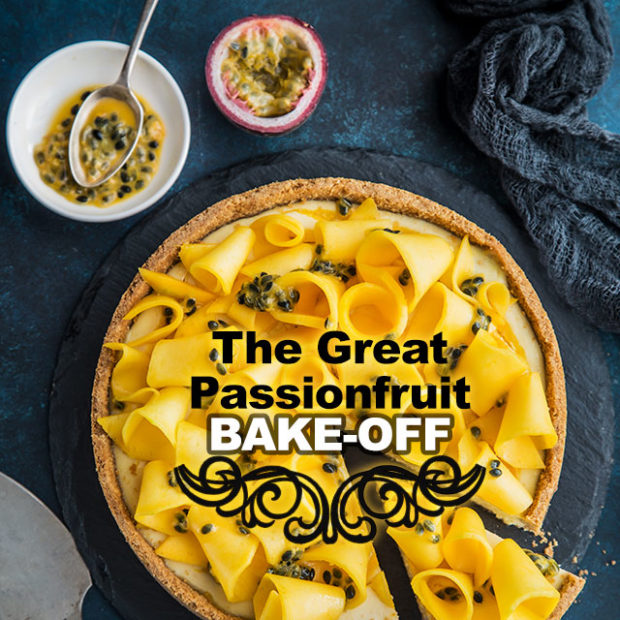 The great passionfruit bake-off