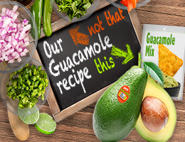 Our guacamole ``recipe``