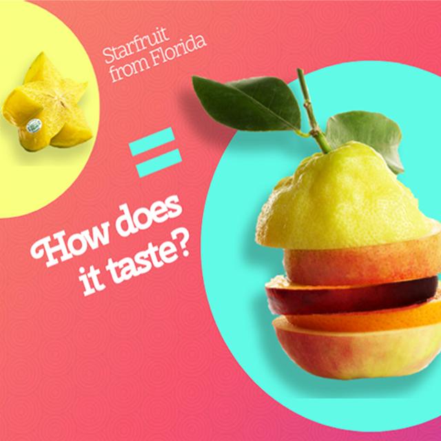 How does starfruit taste?