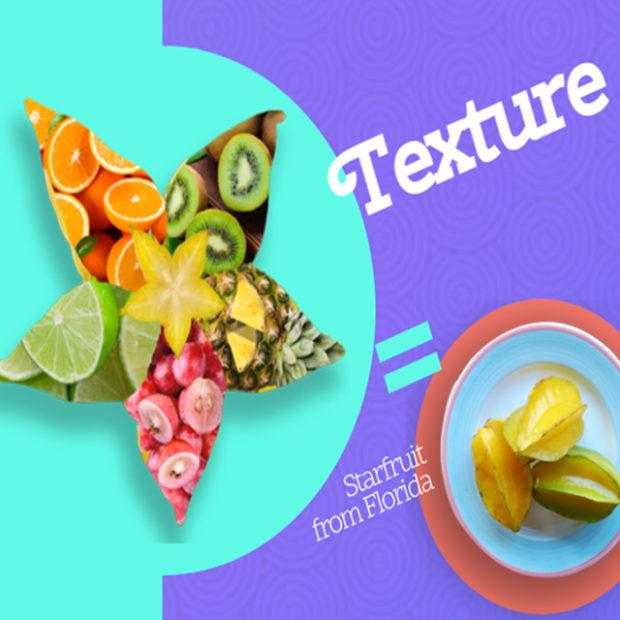 Describe starfruit's texture