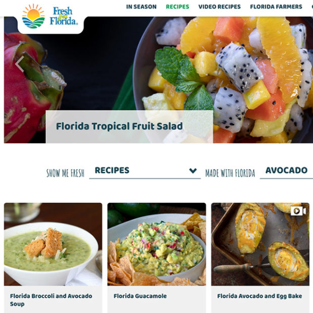 Recipes from the state