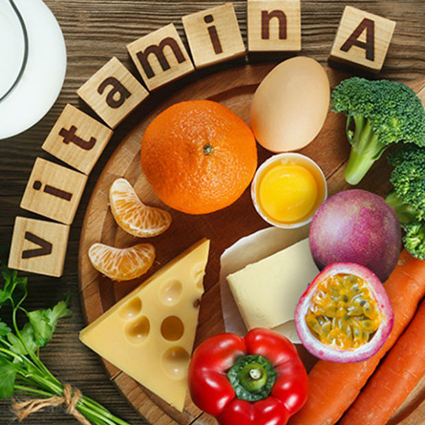 Packed with vitamin A