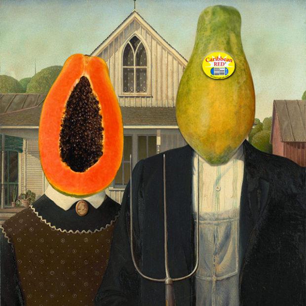 Papaya gothic